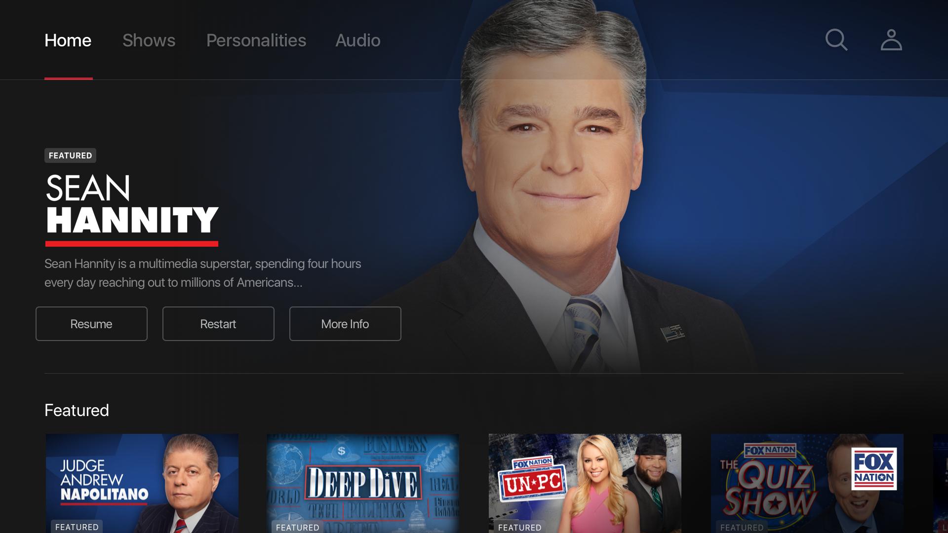 Fox Nation: Celebrate America screenshot 15