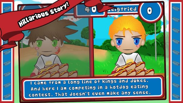 Hotdog Wars - Eating Contest