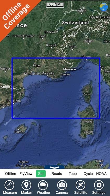 Southern France HD GPS Charts screenshot-4