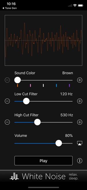 Noise Generator: Full Spectrum on the App Store