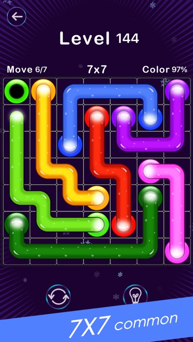Screenshot for Color Line -Fill Block Puzzle in Kazakhstan App Store