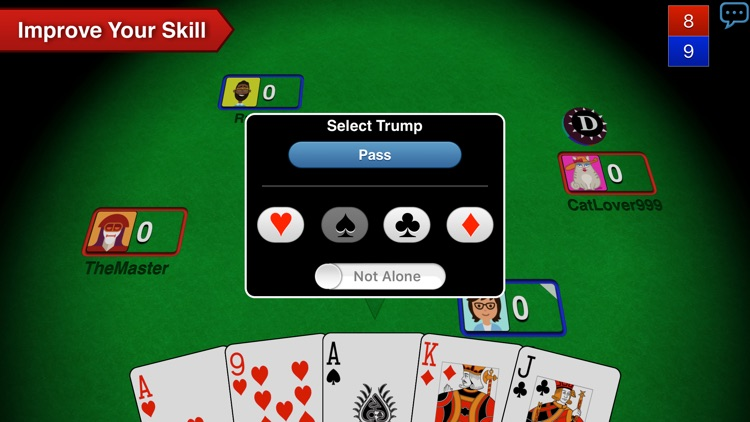 Euchre 3D screenshot-2