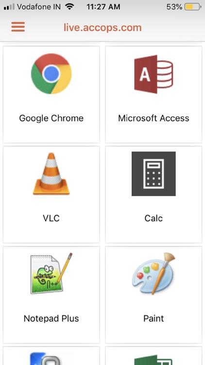 Accops HyClient screenshot-3