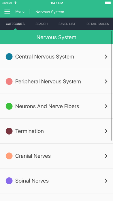 Nervous System Reference Guide screenshot one
