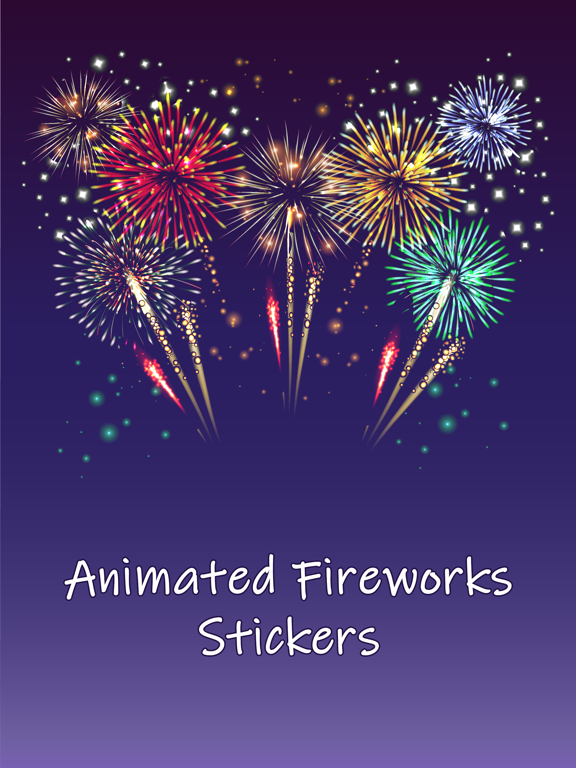 Animated Fireworks Emojis   App Price Drops Fireworks Icon Iphone