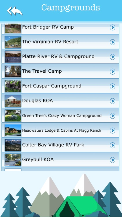 Wyoming Camping & State Parks screenshot-2