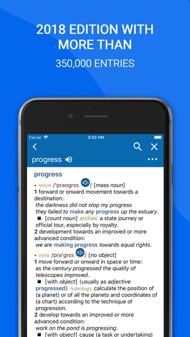 Screenshot for Oxford English Dictionary 2018 in Dominican Republic App Store