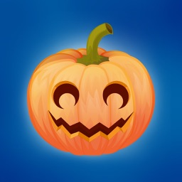 Pumpkin emoji sticker