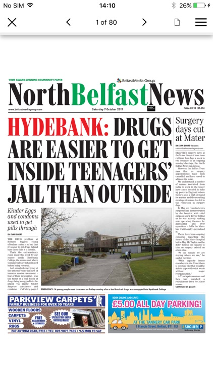 North Belfast News