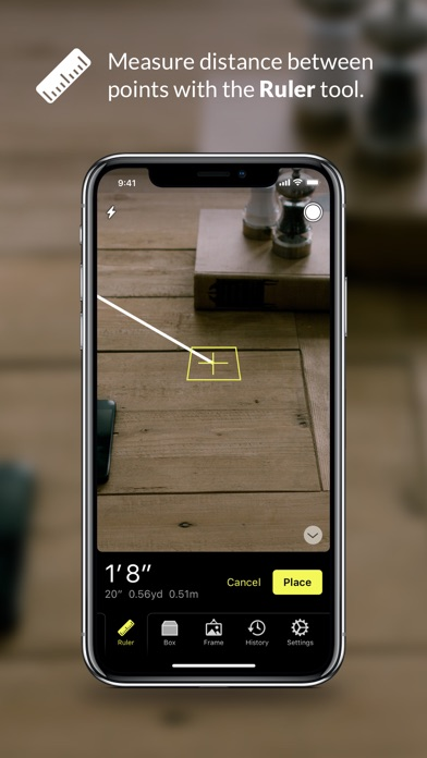 Cubit — AR Ruler Toolkit Screenshots