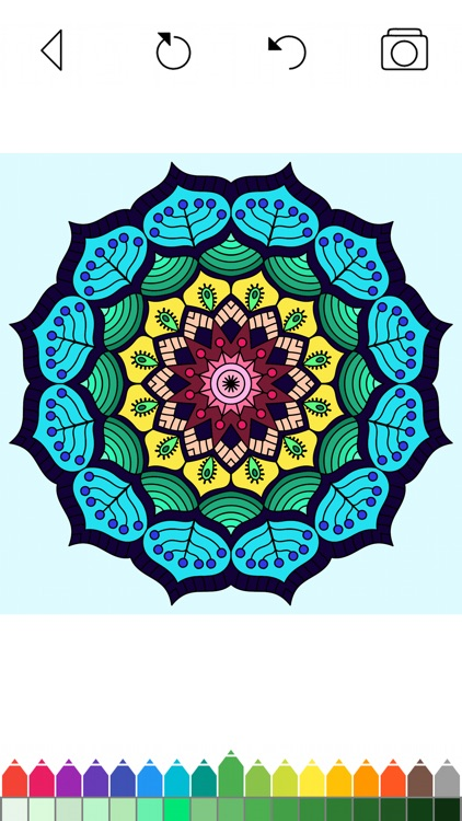Mandala Coloring Pages Games screenshot-6
