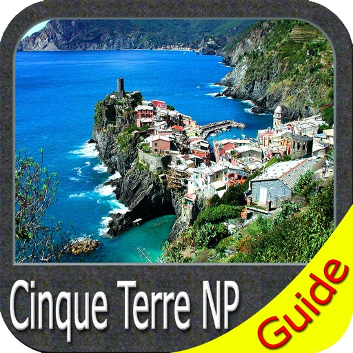 Cinque Terre National Park - GPS Map Navigator