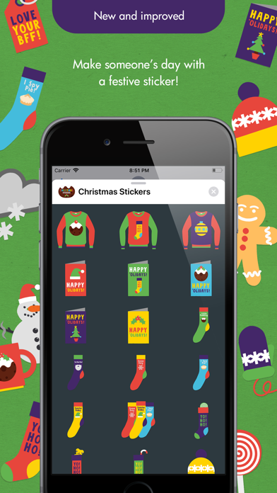 Ibbleobble Christmas Stickers screenshot three