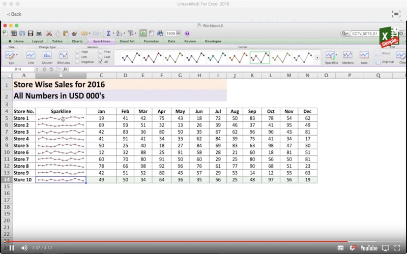 Unravelled! For Excel 2016 screenshot 3