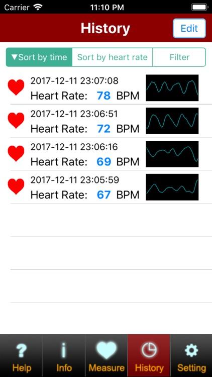 Facial Heart Rate (Free) screenshot-3