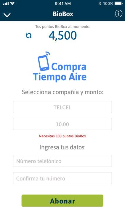 Puntos BioBox screenshot-6