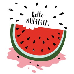 Animated Watermelon Stickers