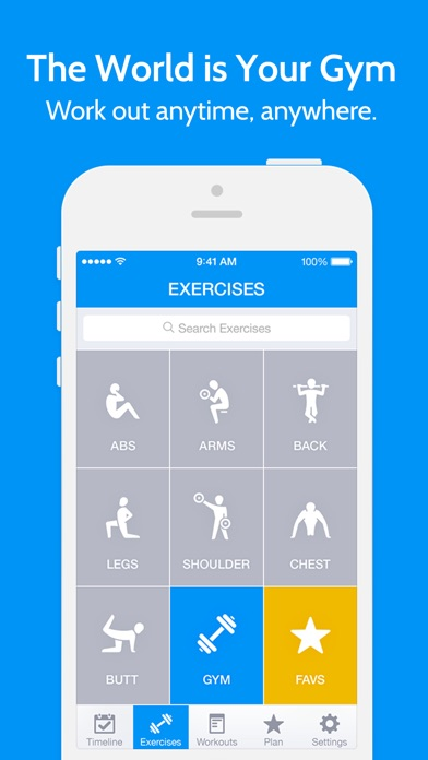 Screenshot for Instant Fitness: Workout Trainer in Czech Republic App Store