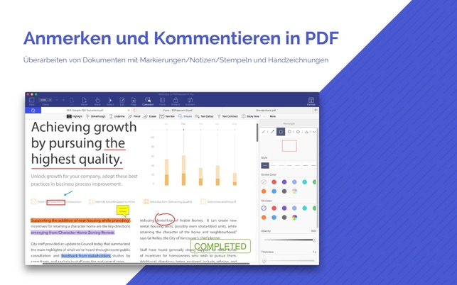 PDFelement 6 Pro - PDF & OCR Screenshot