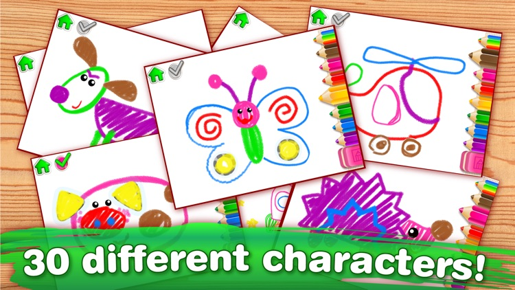DRAWING FOR KIDS Learning Apps screenshot-4