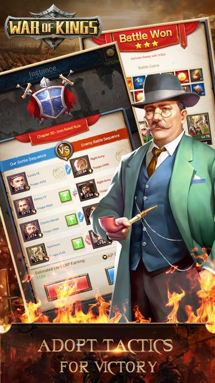War of Kings:Power and Battle screenshot-4