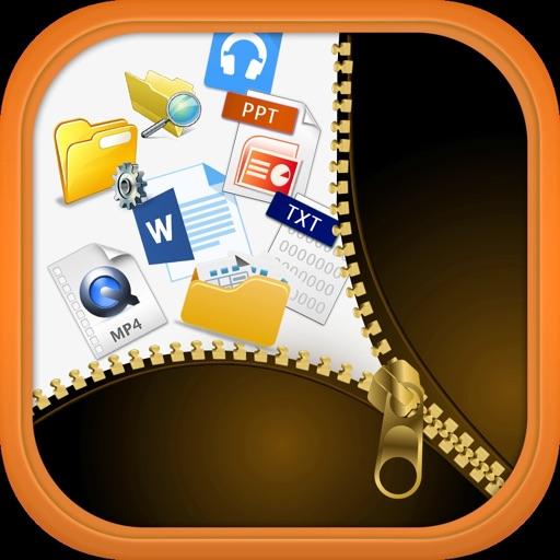 Unzip Unrar - Lock n Hide file