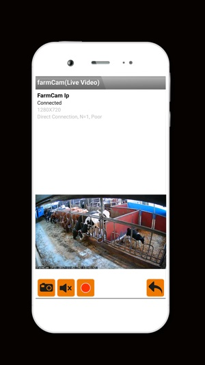 tracking an iphone farmcam on the app 6765