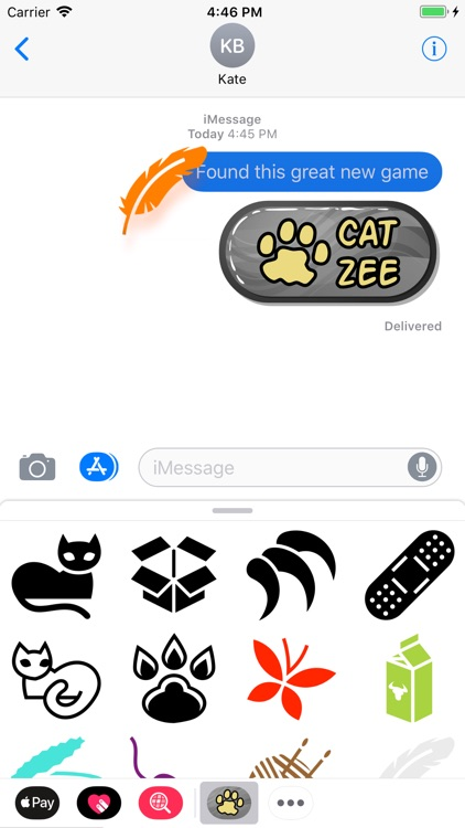 Cat Zee Stickers