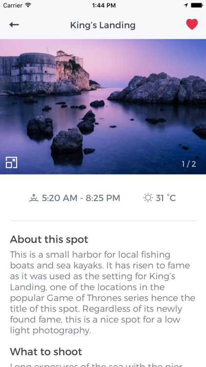 Snapp Guides -destination guides for photographers screenshot-3