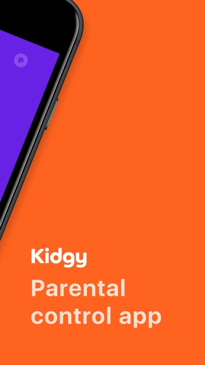 Kidgy - Parental control app