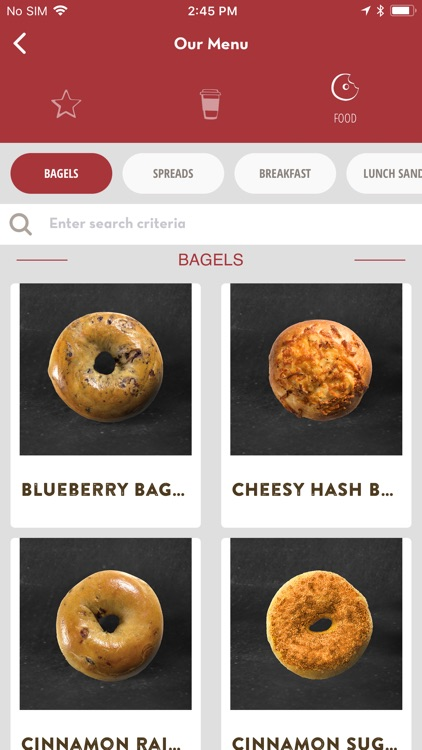 Bruegger's Bagels screenshot-2
