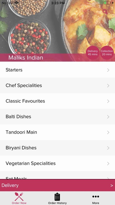 App Shopper Maliks Indian Food Drink