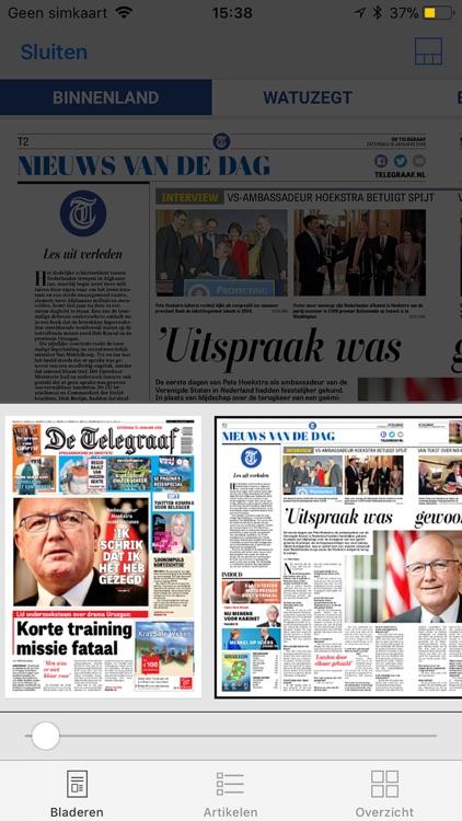 De Telegraaf Krant screenshot-3