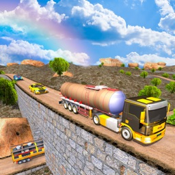 Oil Tanker Truck Drive 2018