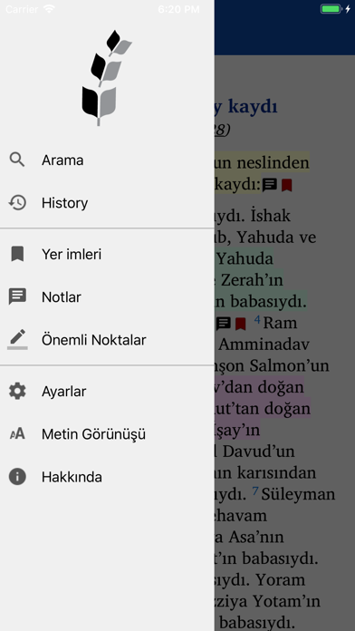 İNCİL screenshot one