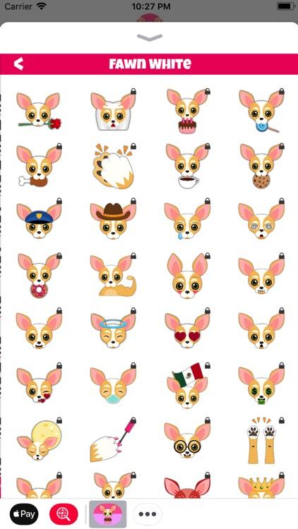 Chihuahua Emoji Lover screenshot-3