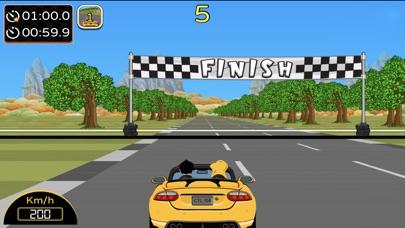 Car Rush 1980s screenshot 2
