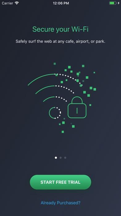 AVG Secure VPN & Proxy server Screenshot