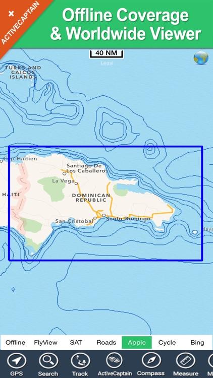 Dominican Republic HD charts screenshot-4