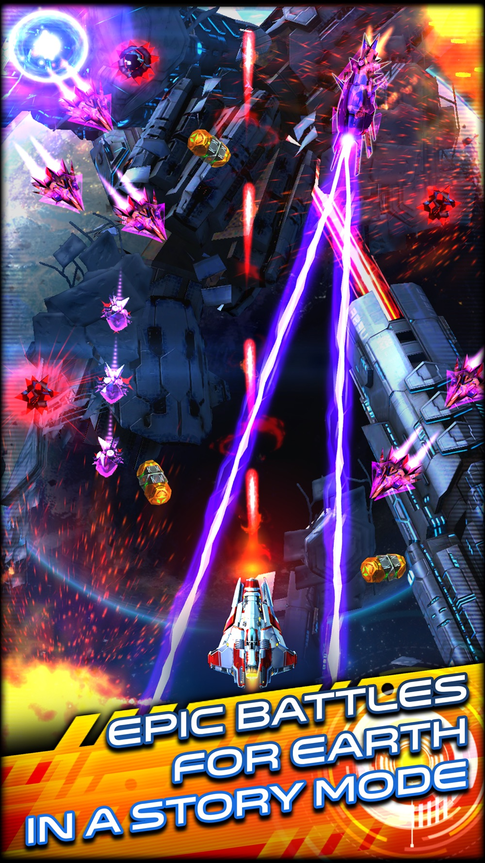 Space Warrior: The Story Cheat Codes