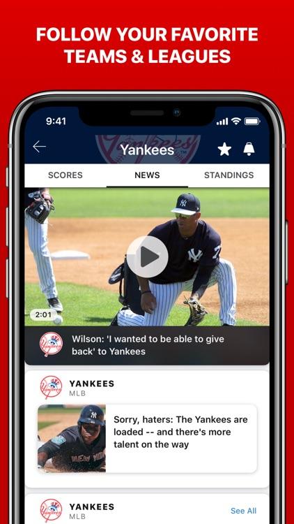 ESPN: Live Sports & Scores screenshot-9