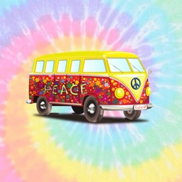 Peace & Love Stickers