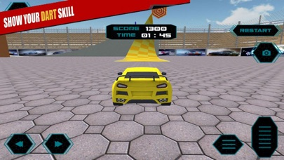 Target Car Speed Jump 3D screenshot 3