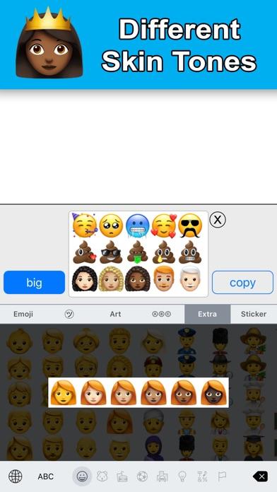 New Emoji - Extra Smileys screenshot two