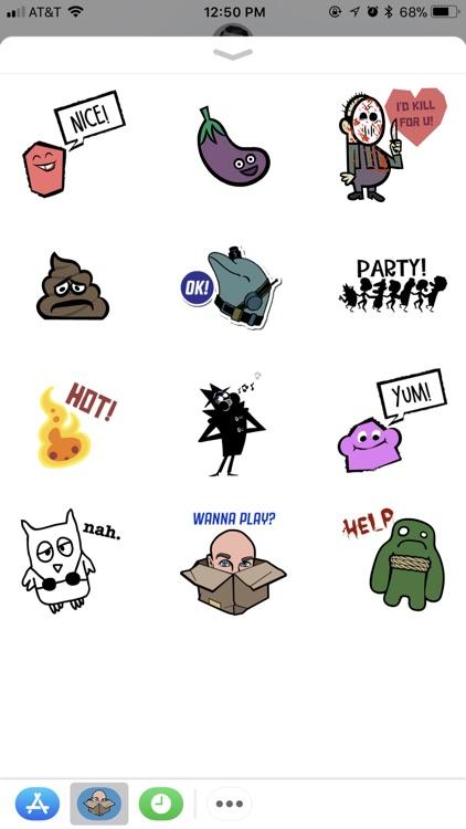 Jackbox Games Sticker Pack 1