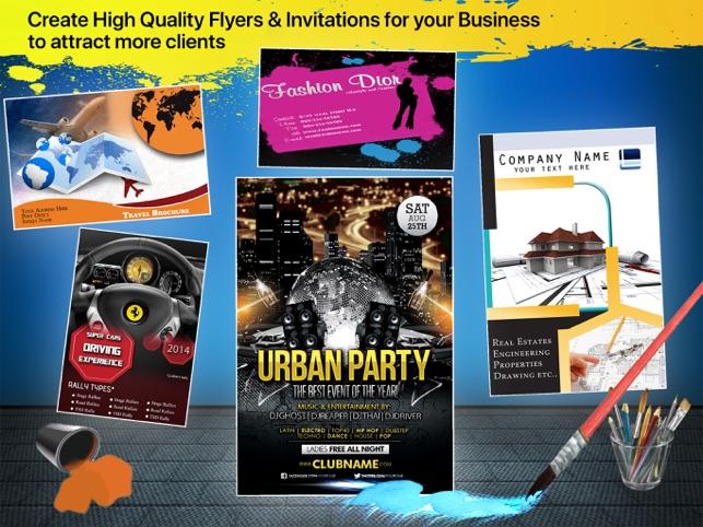 flyer invitation creator on the app store