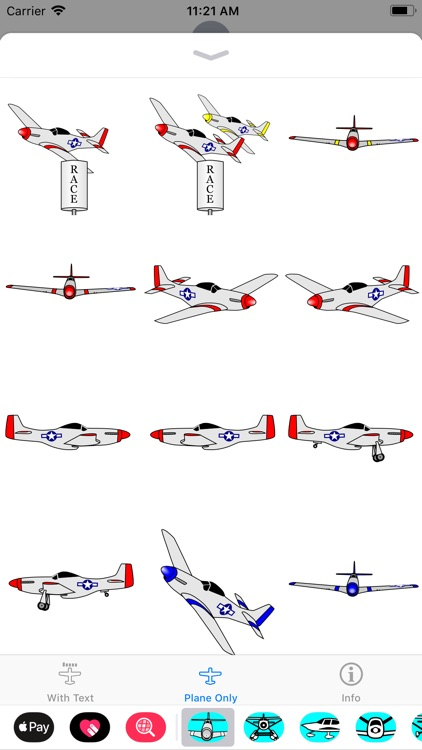 P-51D Mustang Sticker App screenshot-2