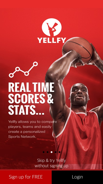Yellfy Sports: Scores & News