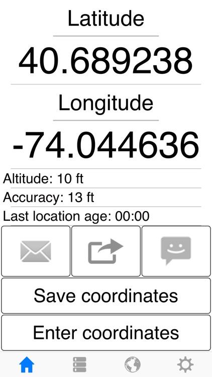 My GPS Coordinates Pro screenshot-3