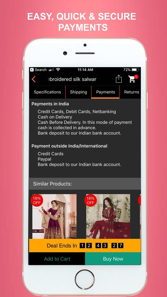 MIRRAW - Online Shopping App Screenshot